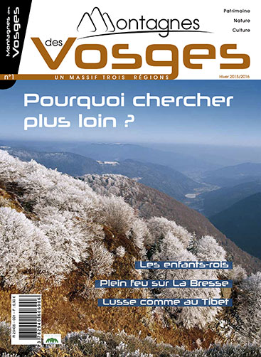 Magazine Montagnes des vosges - Hiver 2015/2016 – N°1