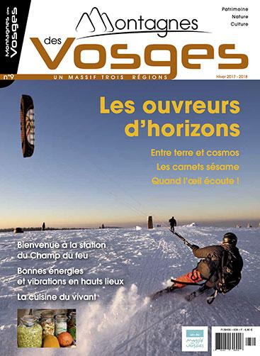 Magazine Montagnes des vosges - Hiver 2017/2018  – N° 9