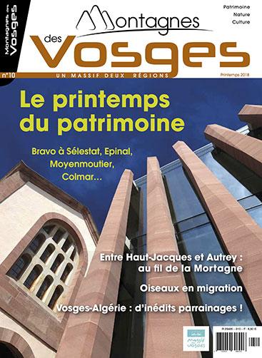 Magazine Montagnes des vosges - Printemps 2018 – N° 10