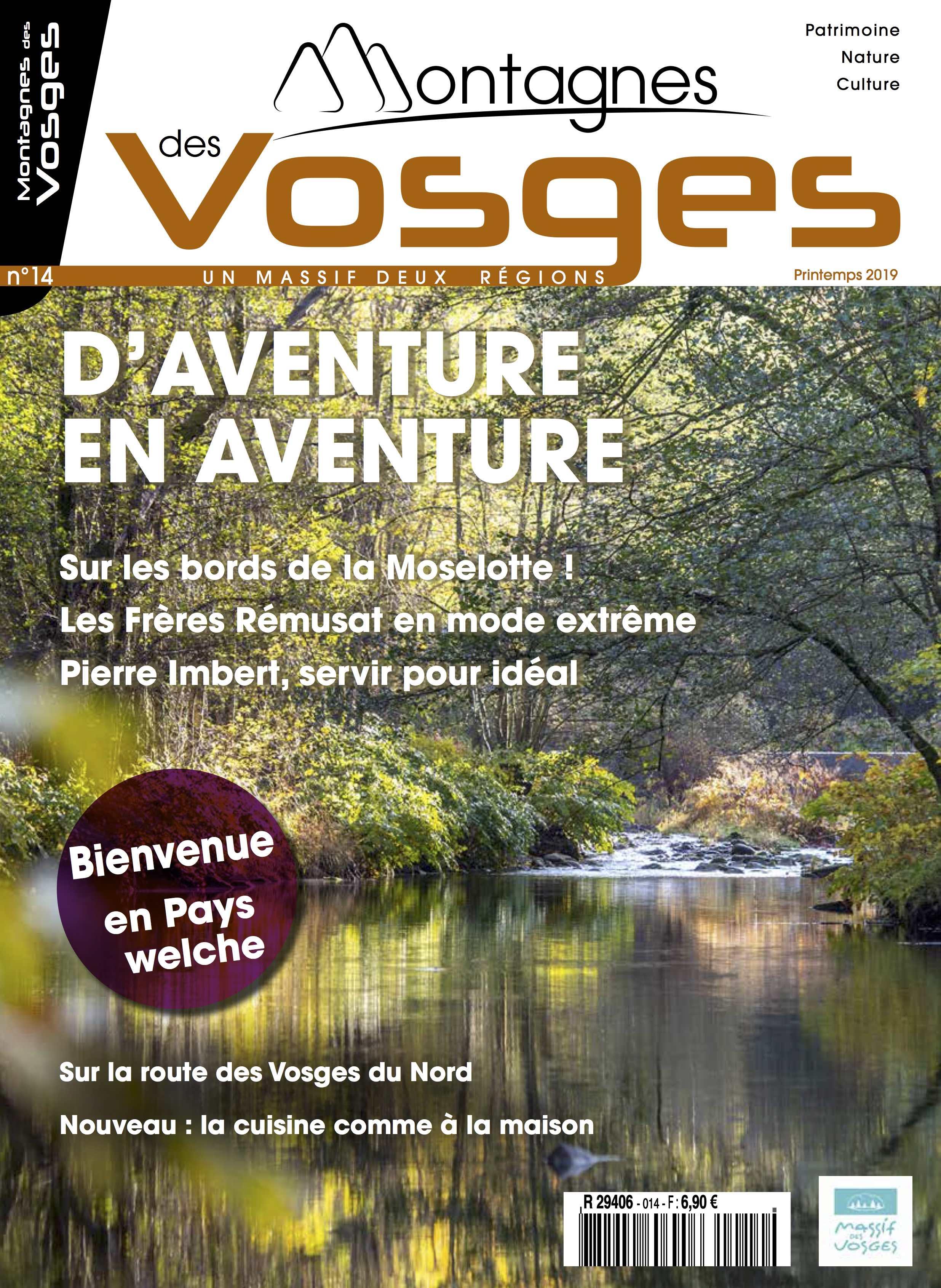 Magazine Montagnes des vosges - Printemps 2019 – N° 14