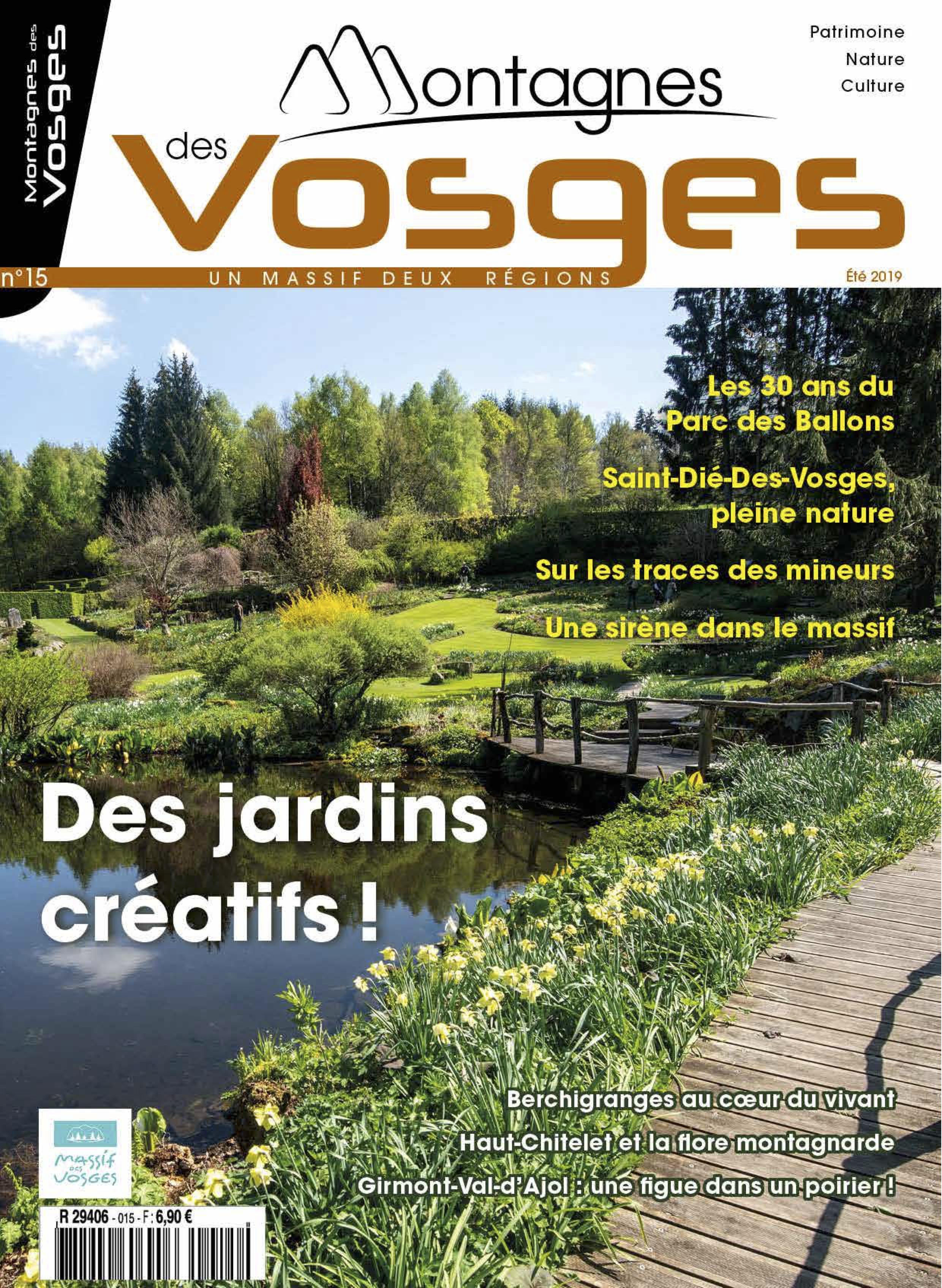 Magazine Montagnes des vosges - Eté 2019 – N° 15