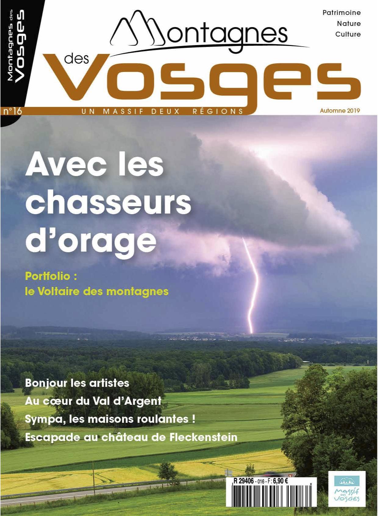 Magazine Montagnes des vosges - Automne 2019 – N° 16