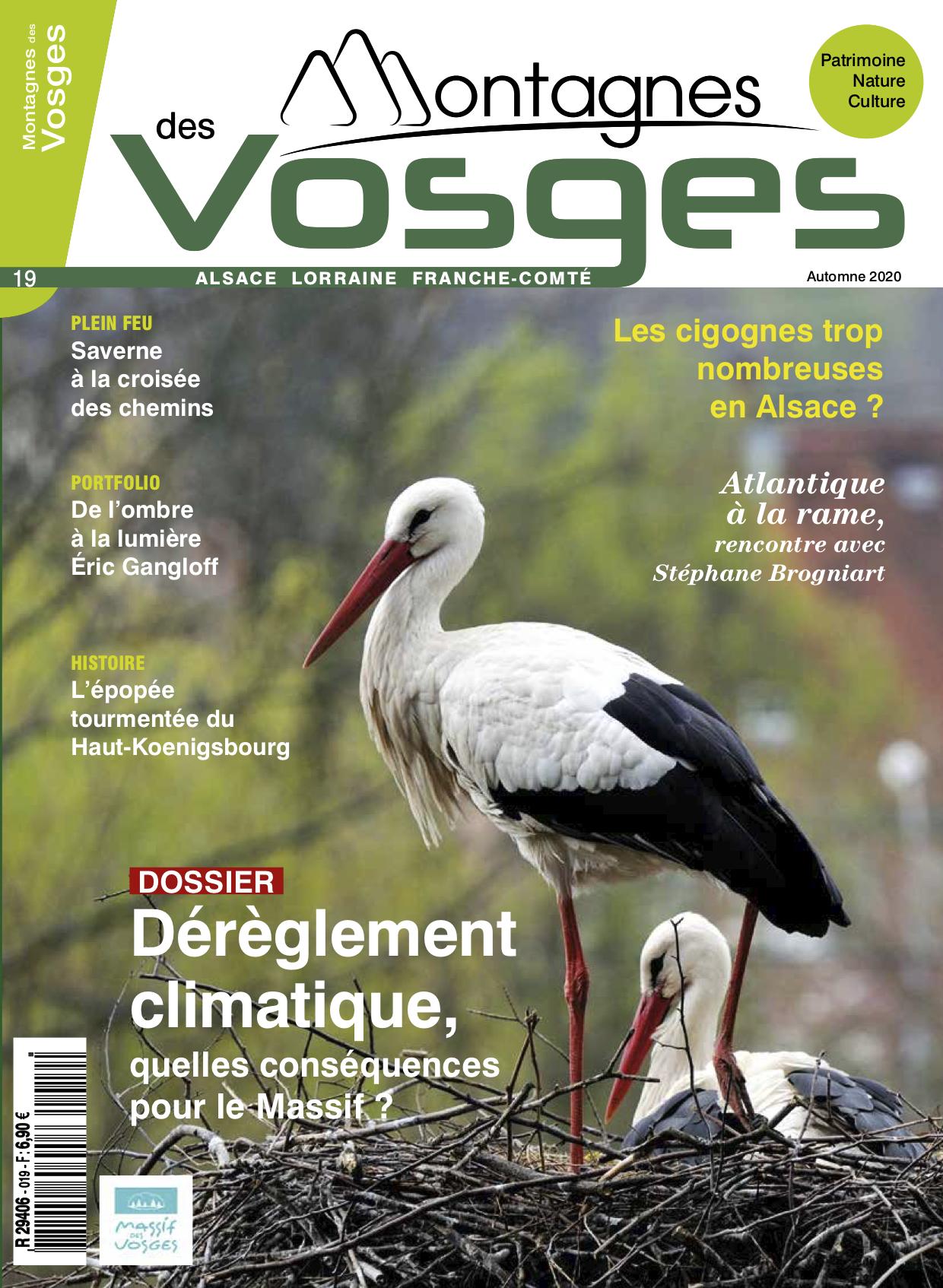 Magazine Montagnes des vosges - Le numéro 19 – Automne 2020